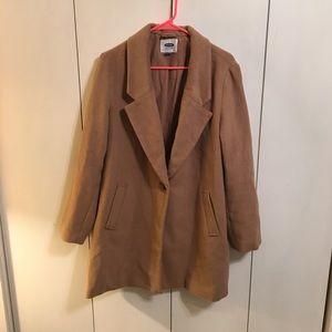 🌥 Old Navy Tan Pea Coat